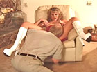 Boss Bitches 2. Blonde cowgirl dude`s ass ride