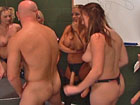 Strapon School. Anal penetrations training